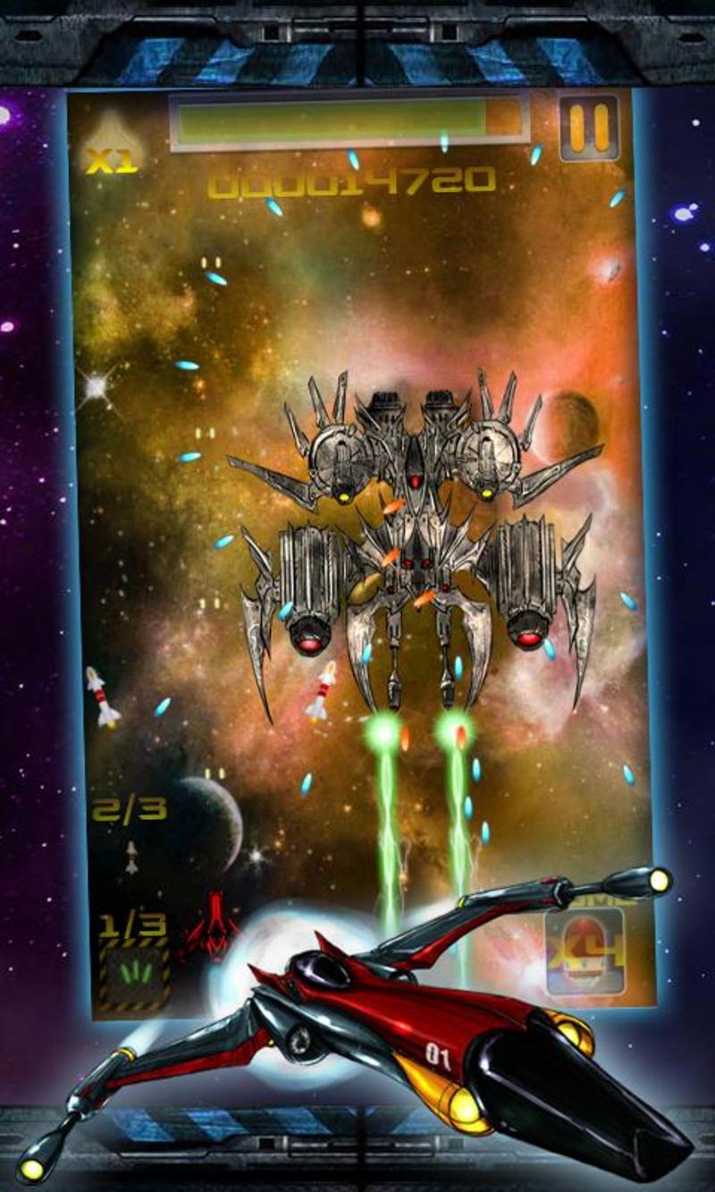 太空战机V1.0.5 破解版