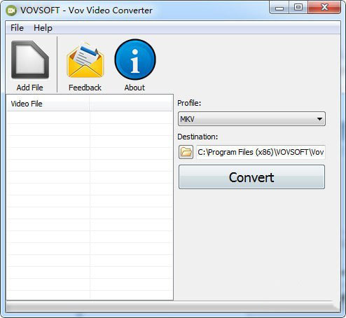 Vov Video Converter(视频格式转换器)V1.6 免费版