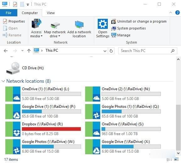 RaiDrive(网盘映射到本地工具)V1.4.1.0 官方版