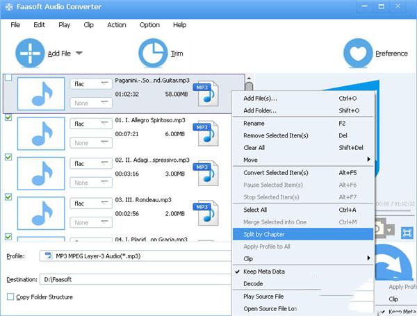 Faasoft Audio ConverterV5.4.18.6270 中文版