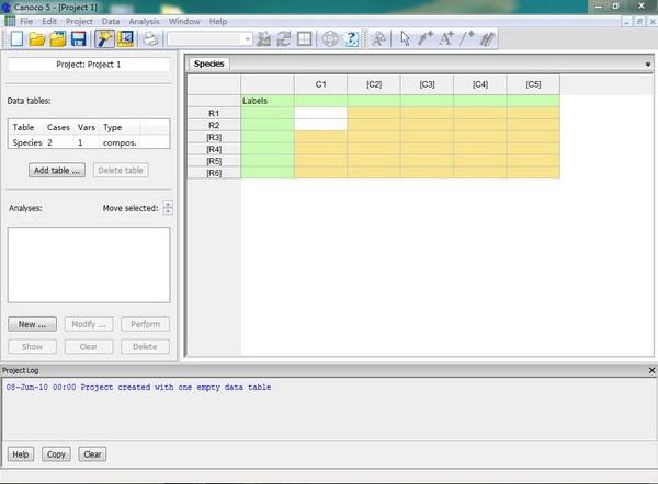 Canoco(生态数据处理软件)V5.02 免费版