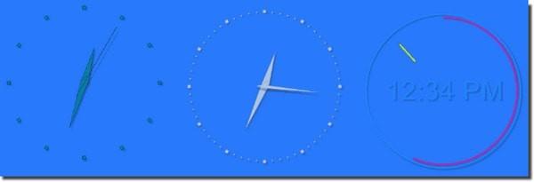 ClassicDesktopClock(经典桌面时钟)V1.25 免费版