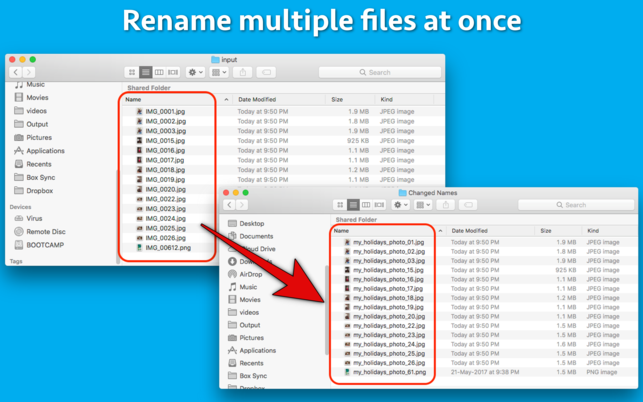 Bulk Rename ToolV1.0 Mac版