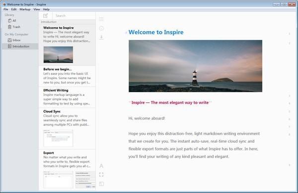 Inspire(灵感写作软件)V2.7.0 官方版