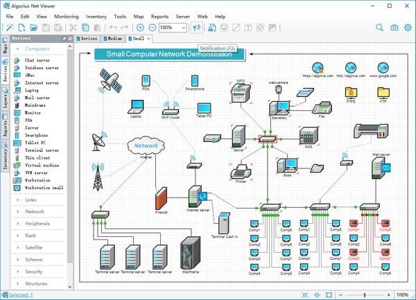 Algorius Net Viewer(网络可视化管理软件)V10.0.4 免费版