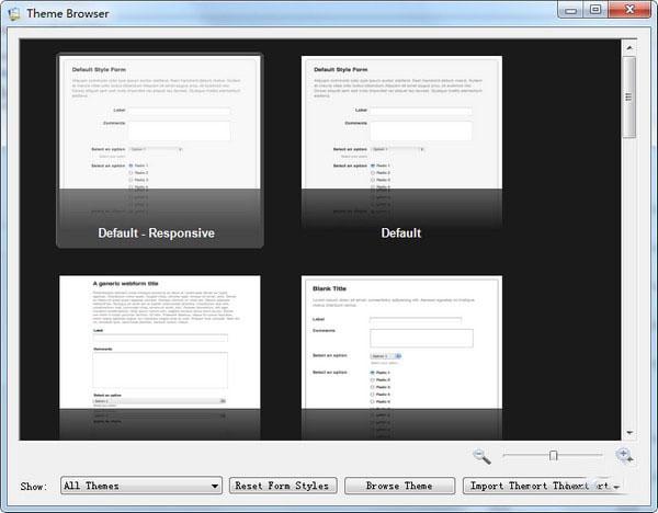 CoffeeCup Web Form Builder(网页表单制作工具)V2.9.5525 免费版