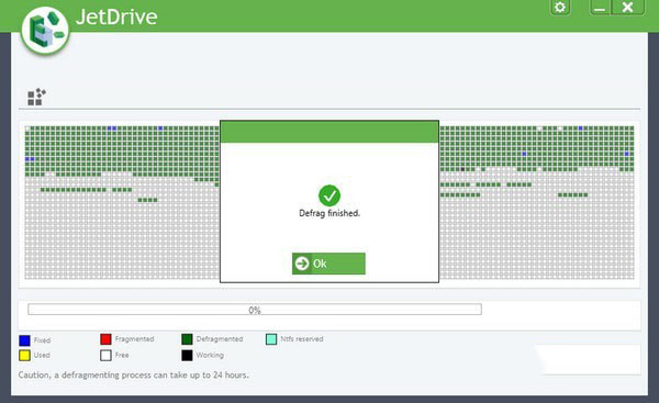 Abelssoft JetDrive(硬盘碎片整理工具)V9.3 绿色版