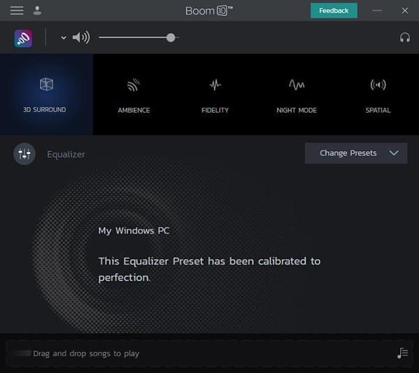 Boom 3D WindowsV1.0.6 免费版