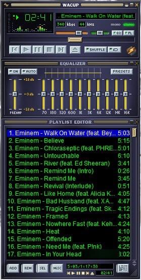 WACUP(音频播放器)V1.0.1.3276 官方版