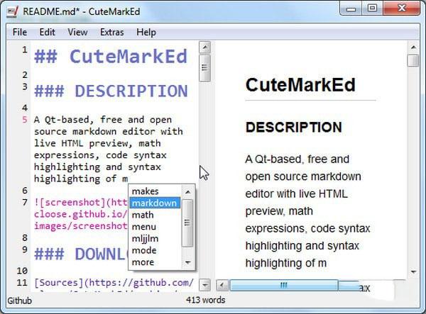 CuteMarkEd(Markdown编辑器)V0.11.3 免费版
