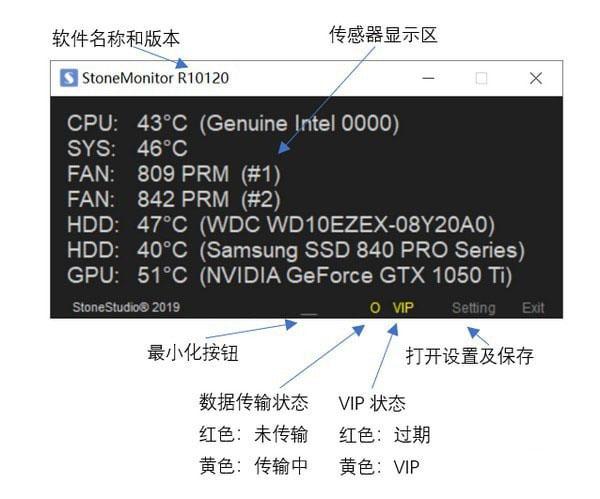 StoneMonitor(Windows云温度监控)V10124 官方版