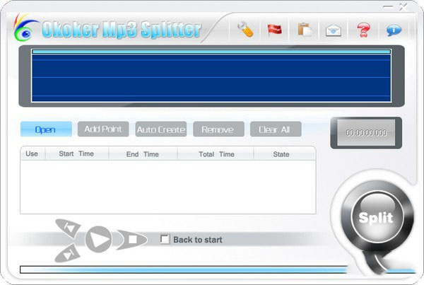 Okoker Mp3 Splitter(mp3切割器)V5.0.0 官方版