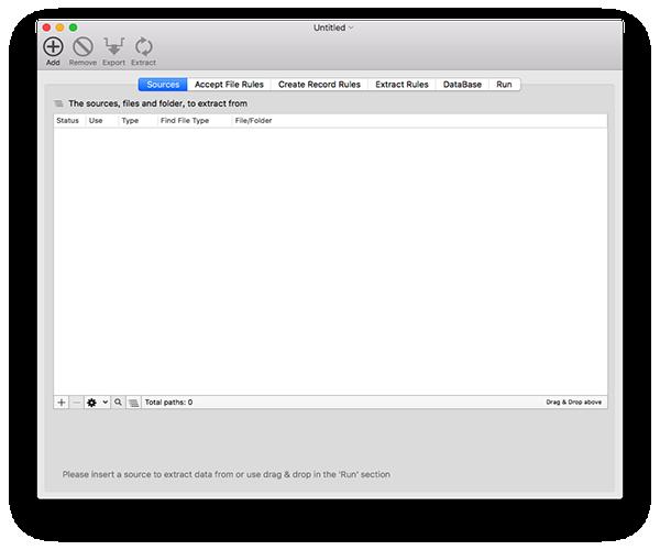 Data ExtractorV1.7 Mac版