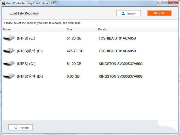iFinD Photo Recovery(照片恢复软件)V5.9.1 免费版