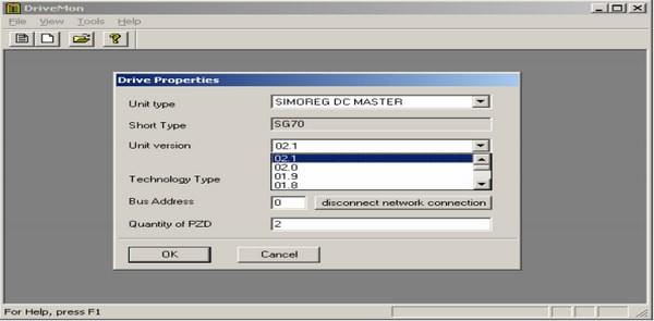 DriveMlonitor(6RA70装置调试软件)V5.5SP2 官方版