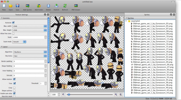TexturePacker for MacV4.12.0 Mac版
