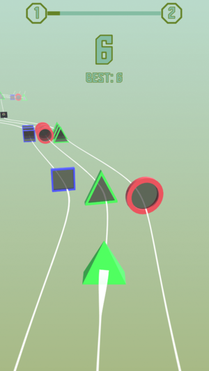几何奔跑V1.0 苹果版