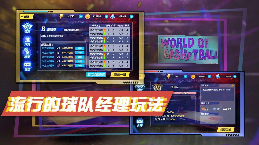 篮球大世界V1.0 苹果版