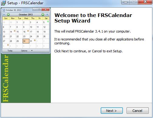 FRSCalendarV3.4.1 官方版