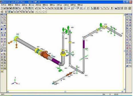 bentley autopipe(化工管道设计软件)V09.06.00.19 官方版