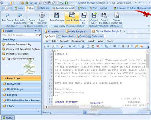 微软日志分析工具(log parser lizard)V6.8.0 特别版