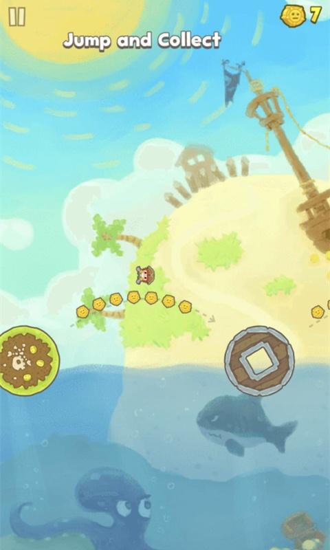 海岛岛屿跳跃