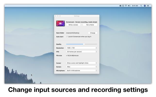 ScreencastV2.7 Mac版