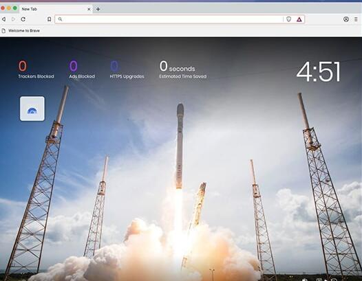 Brave浏览器V73.0.62.50 Mac版