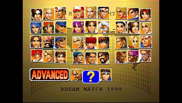 拳皇98 PS1版V3.8.4 安卓版