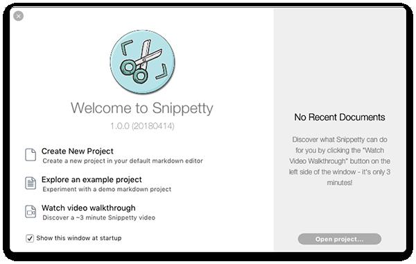 SnippettyV1.7.1 Mac版