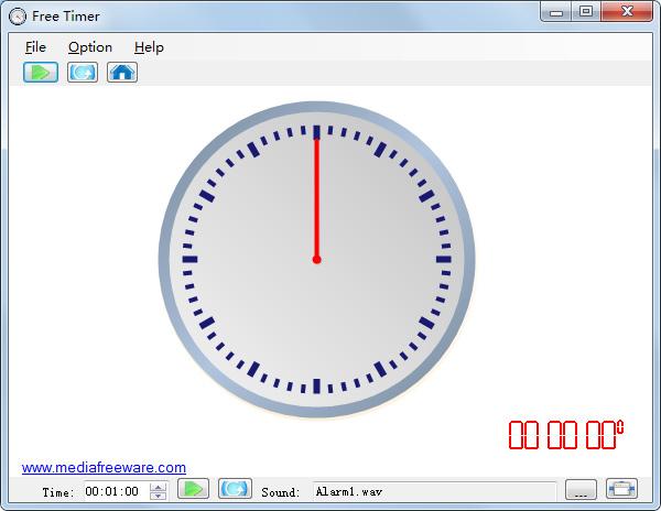 Free Timer(倒计时软件)V1.0 免费版