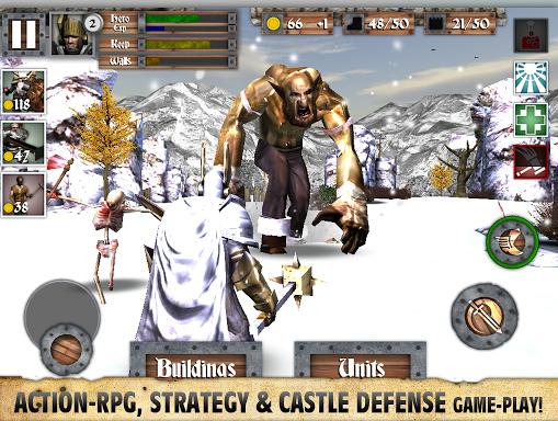 英雄城堡破解免费版V2.2 变态版