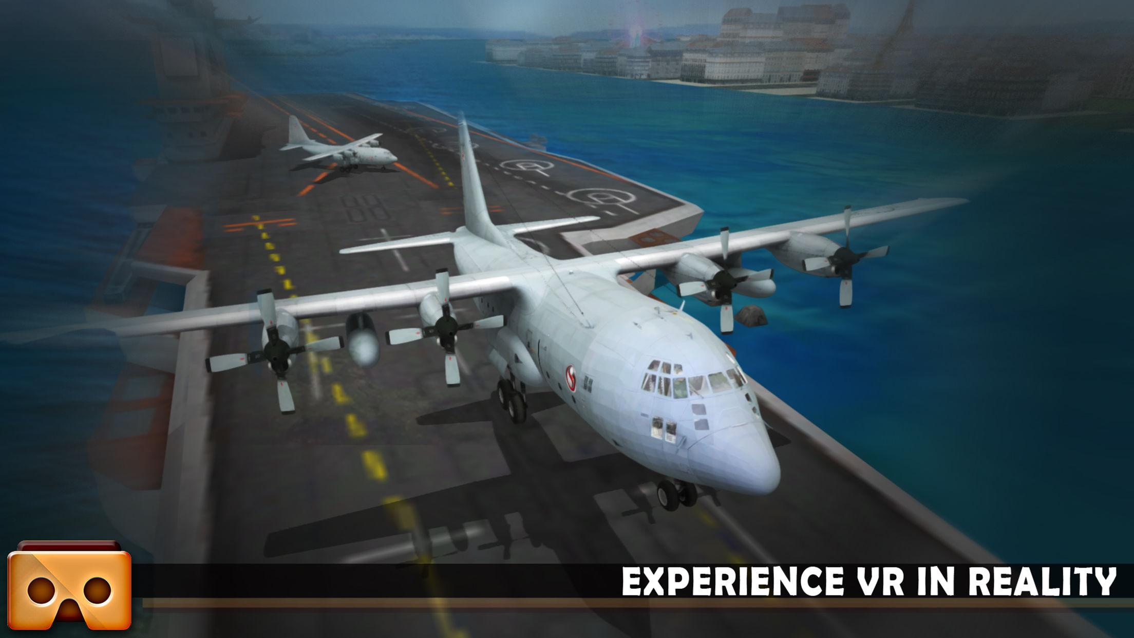 VR飞机模拟飞行V1.1 苹果版截图4