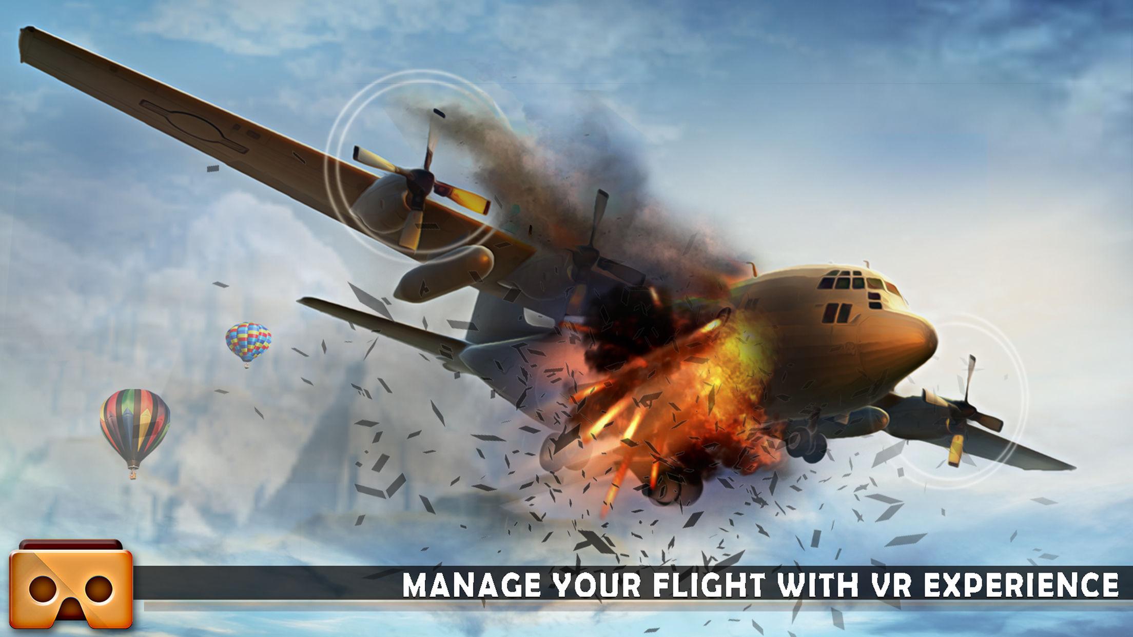 VR飞机模拟飞行V1.1 苹果版截图2