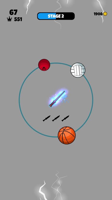 飞刀和篮球V1.2 苹果版