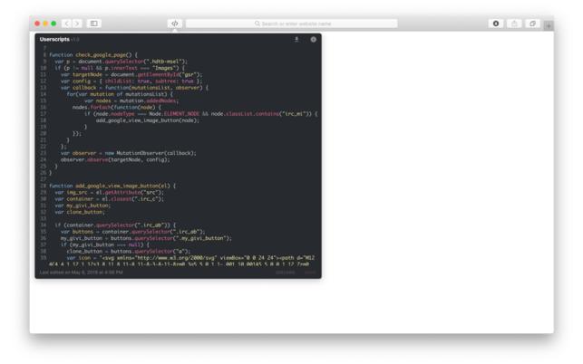 UserscriptsV1.0.3 Mac版截图1
