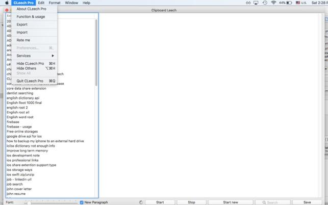 Clipboard LeechV1.5.0 Mac版