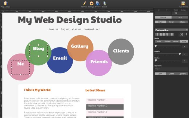 HTML Egg 2V2.0.2 Mac版