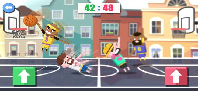 趣味双人篮球V1.0 苹果版