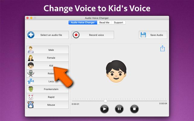 Audio Voice ChangerV1.0 Mac版