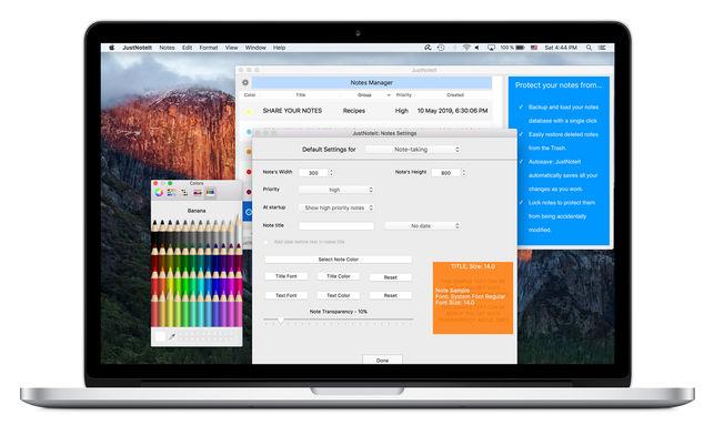 JustNoteItV2.0.5 Mac版