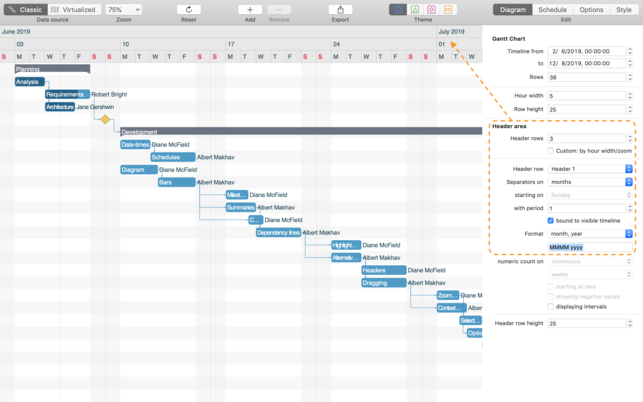 Ganttis demoV1.0 Mac版