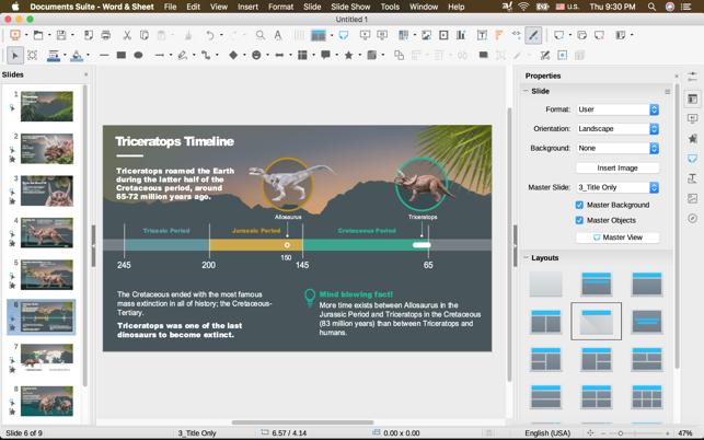 Documents SuiteV1.2 Mac版