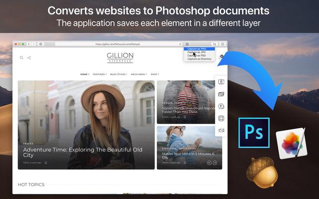 WebToLayersV1.0 Mac版