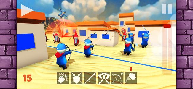 人类群斗模拟器V1.0 苹果版