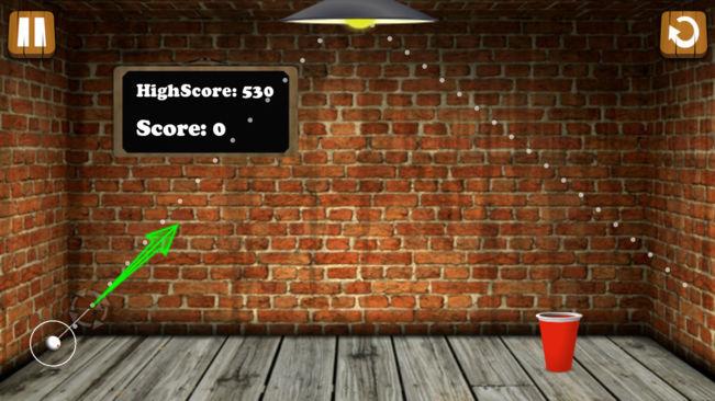 啤酒乒乓球特技V2.6 �O果版