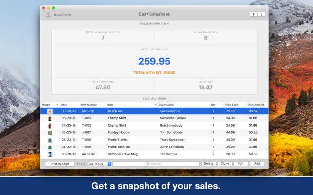 Easy SalesbaseV1.2 Mac版