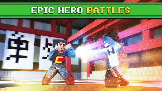 方块英雄格斗3DV1.0 苹果版