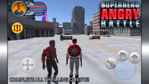 超级英雄愤怒对战V1.0 苹果版