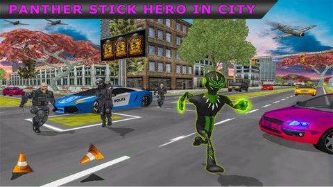 火柴人绳索英雄城市V1.0 安卓版